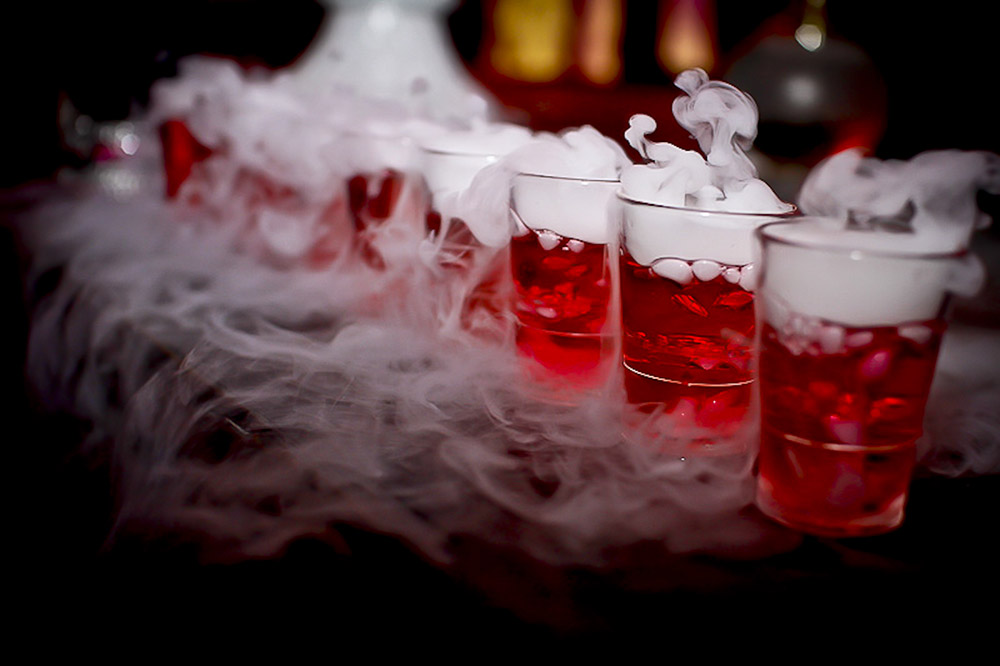 halloween punch alcoholic drinks