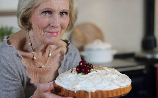 My nan doesn't even know what a meringue is...