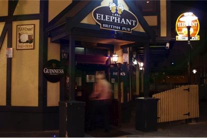 The Elephant 'British' Pub in Adelaide