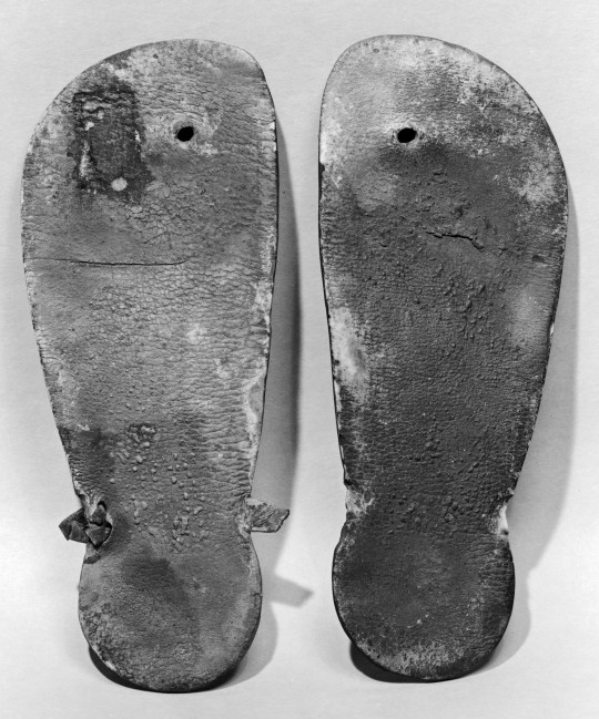What the flip flops probably look like after winter usage