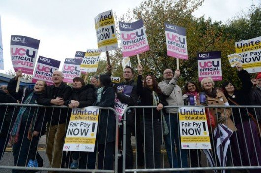 Lecturers have gone on strike five times since October last year