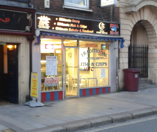 Sidwell Street's Fish and Chips