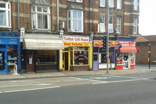 Best Kebab, 132A Sidwell Street