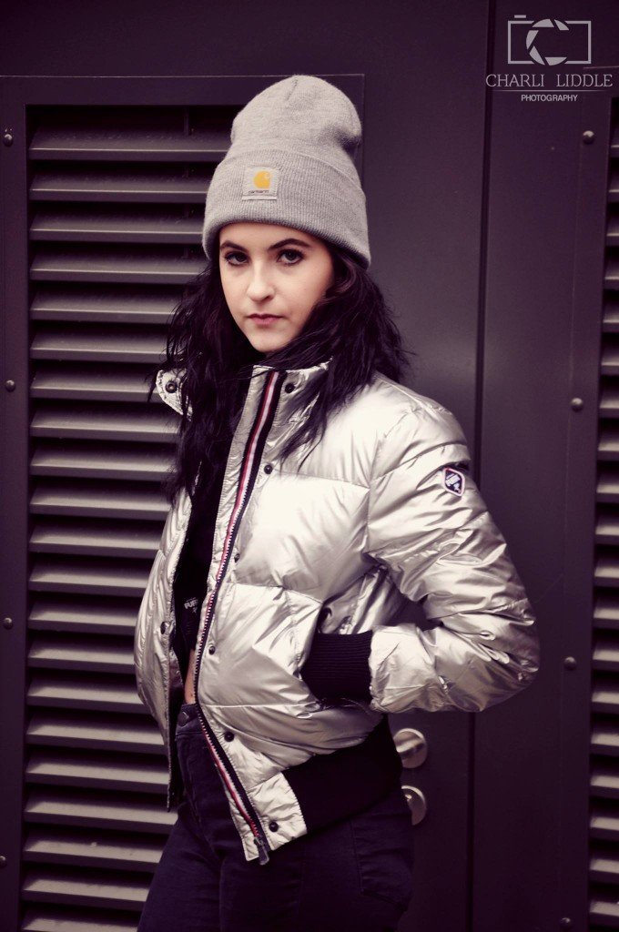 This baby will keep you warm and dry from those freezing rainy days. A little shine from the metallic material will surely brighten your moody day in style. Jacket: Topshop, Beanie: Private