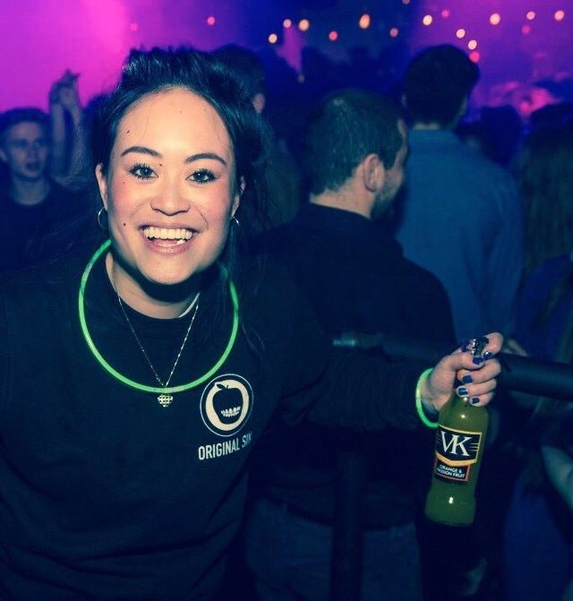 Image may contain: Alcohol, Beer, Beverage, Drink, Night Club, Party, Club, Human, Person