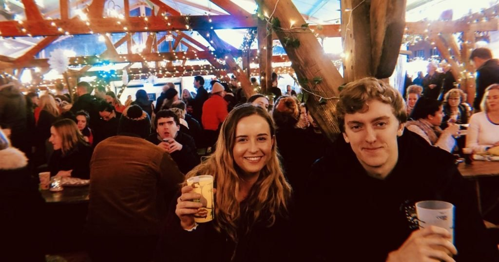 Image may contain: Photography, Photo, Crowd, People, Face, Glass, Night Life, Lager, Beer, Alcohol, Drink, Beverage, Indoors, Interior Design, Bar Counter, Party, Pub, Human, Person