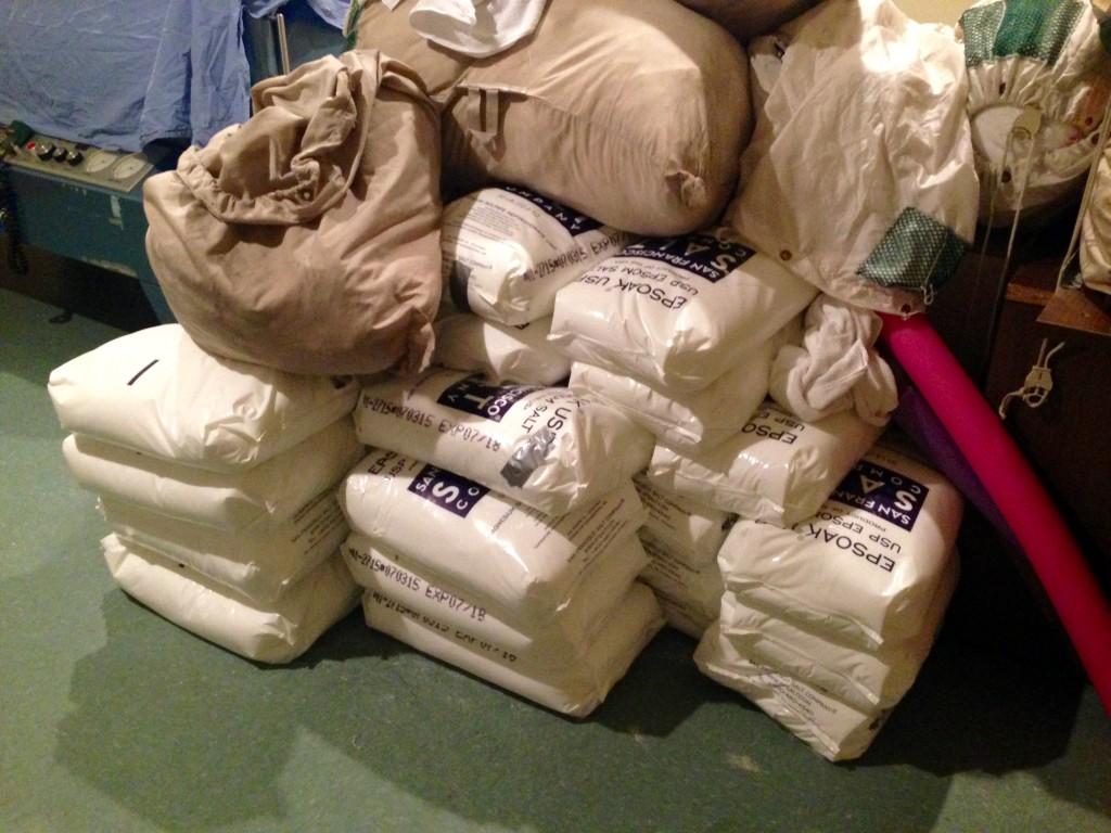 1,000 lbs of Epsom salt