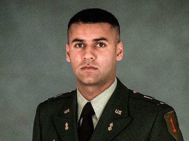 U.S. Army Captain Humayun Khan
