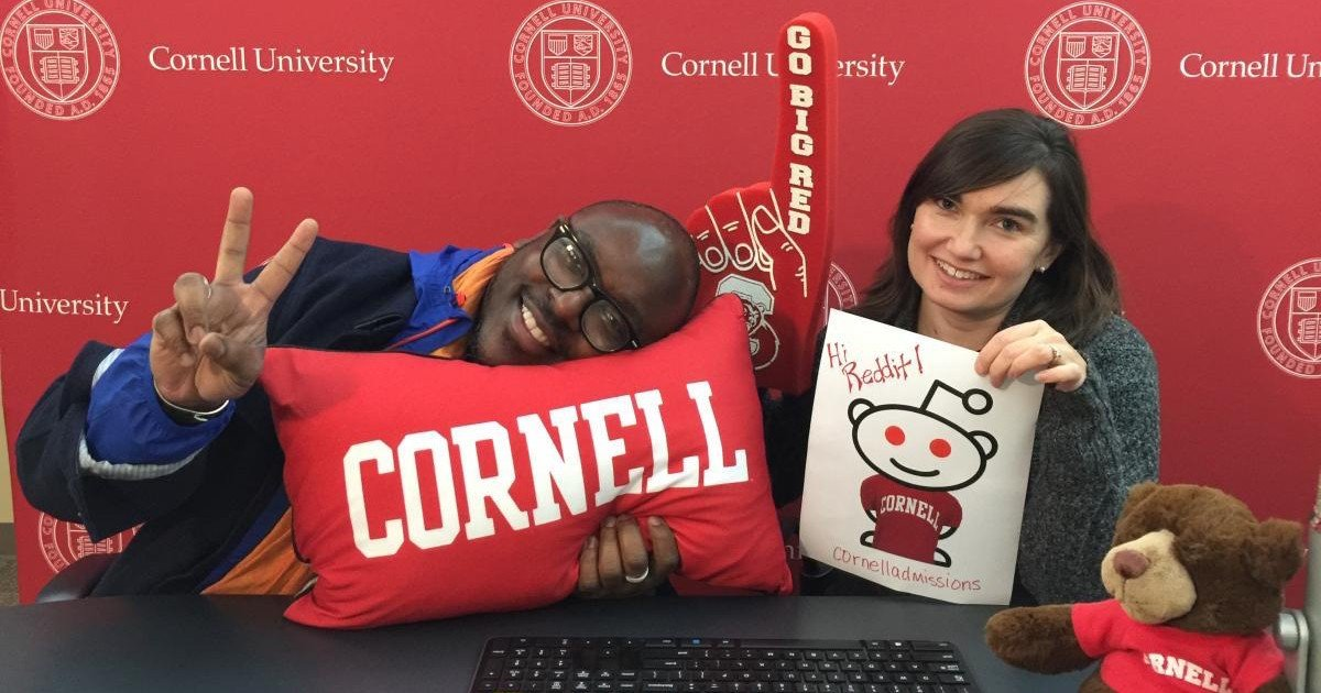 Cornell Admissions hosts first AMA on Reddit and it went as