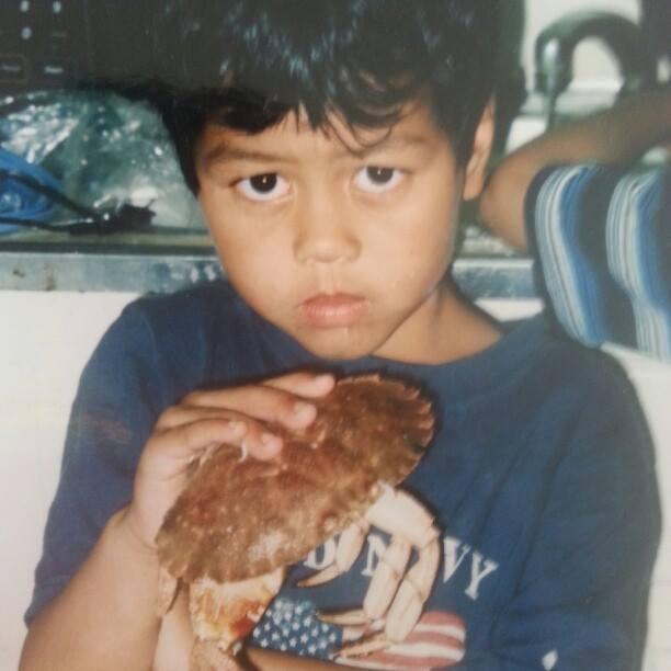 Tariq as a Kid