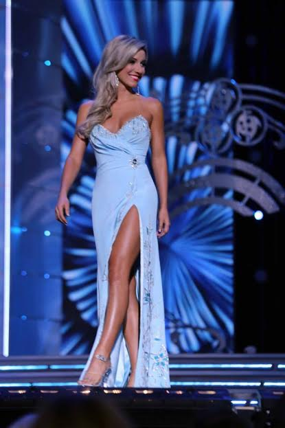 Representing New Jersey at the Miss America pageant