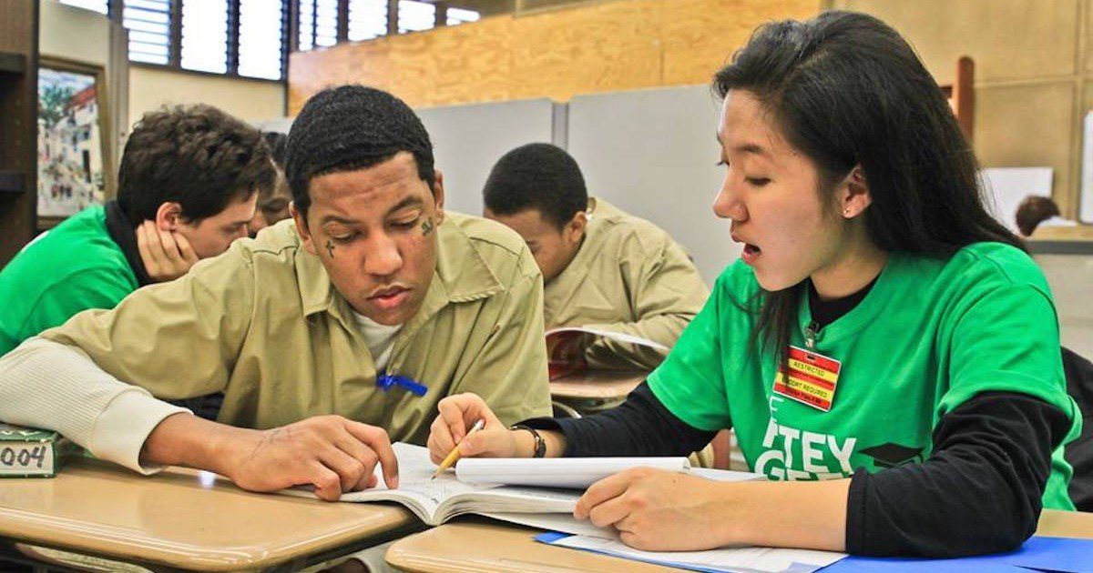 how princeton students started tutoring in prison