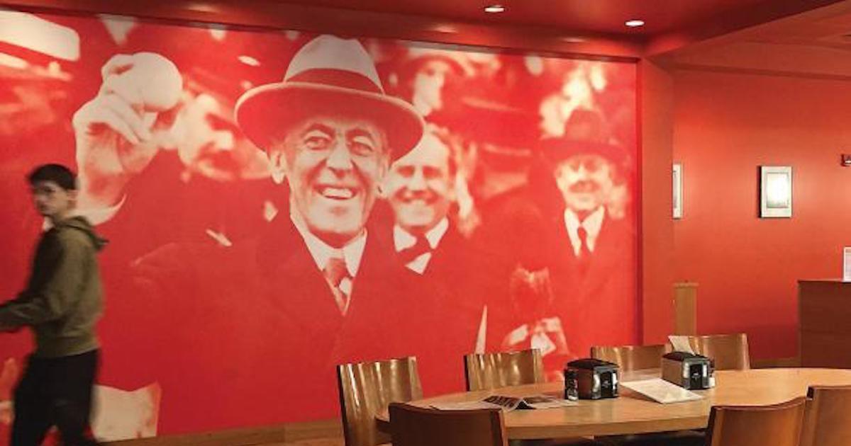 The Wilson 'mural'