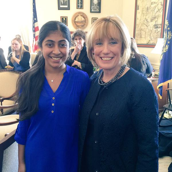 And New Hampshire Governor Maggie Hassan