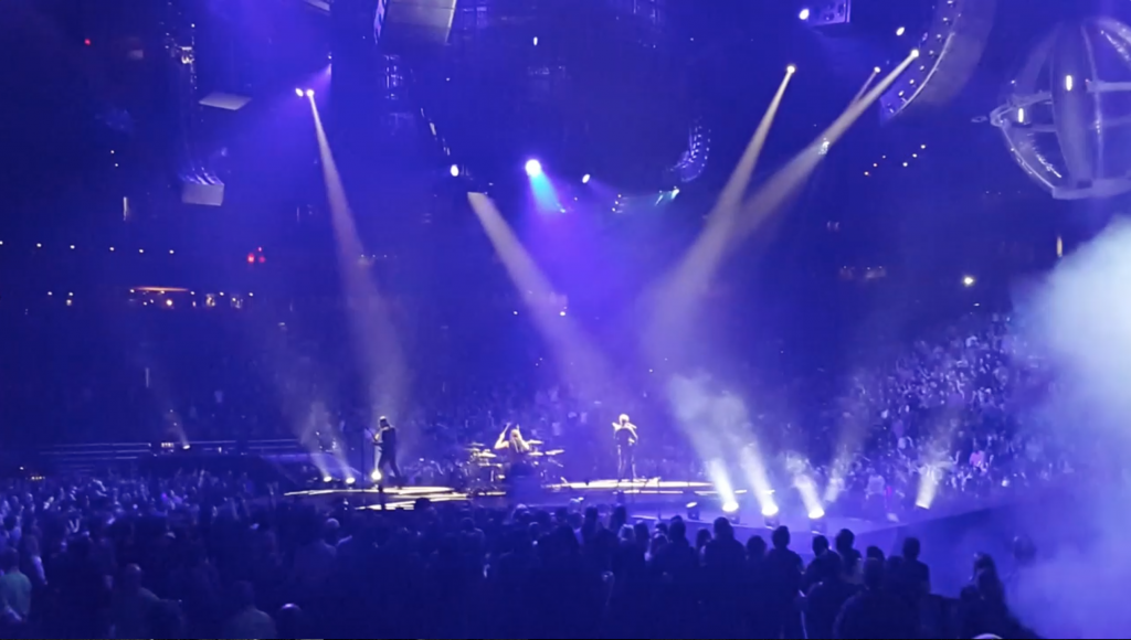 Muse performs at TD Garden in Boston