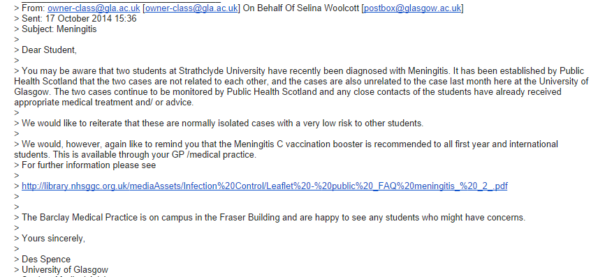 strathy email