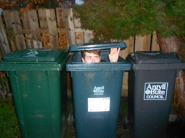 Bins are your friend