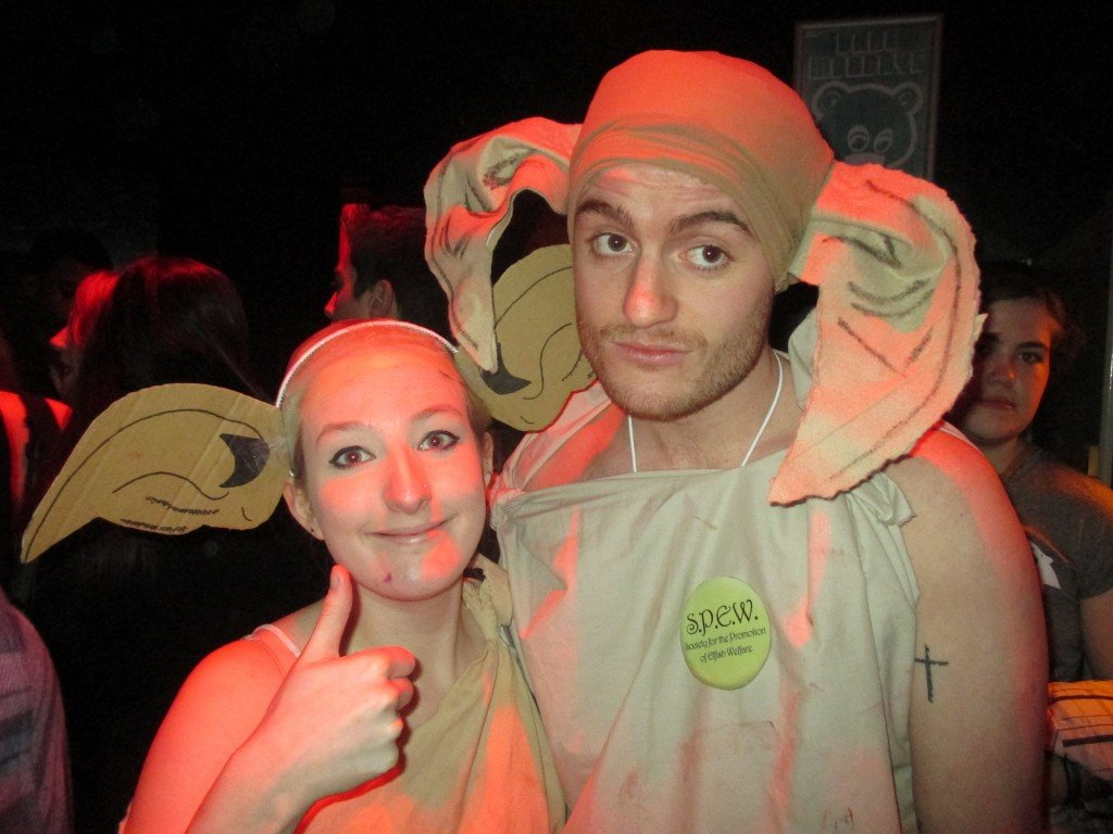 He clearly wasnu0027t as pleased with our matching outfits as I was. #  sc 1 st  The Tab & I pulled at Garage dressed as Dobby the house elf
