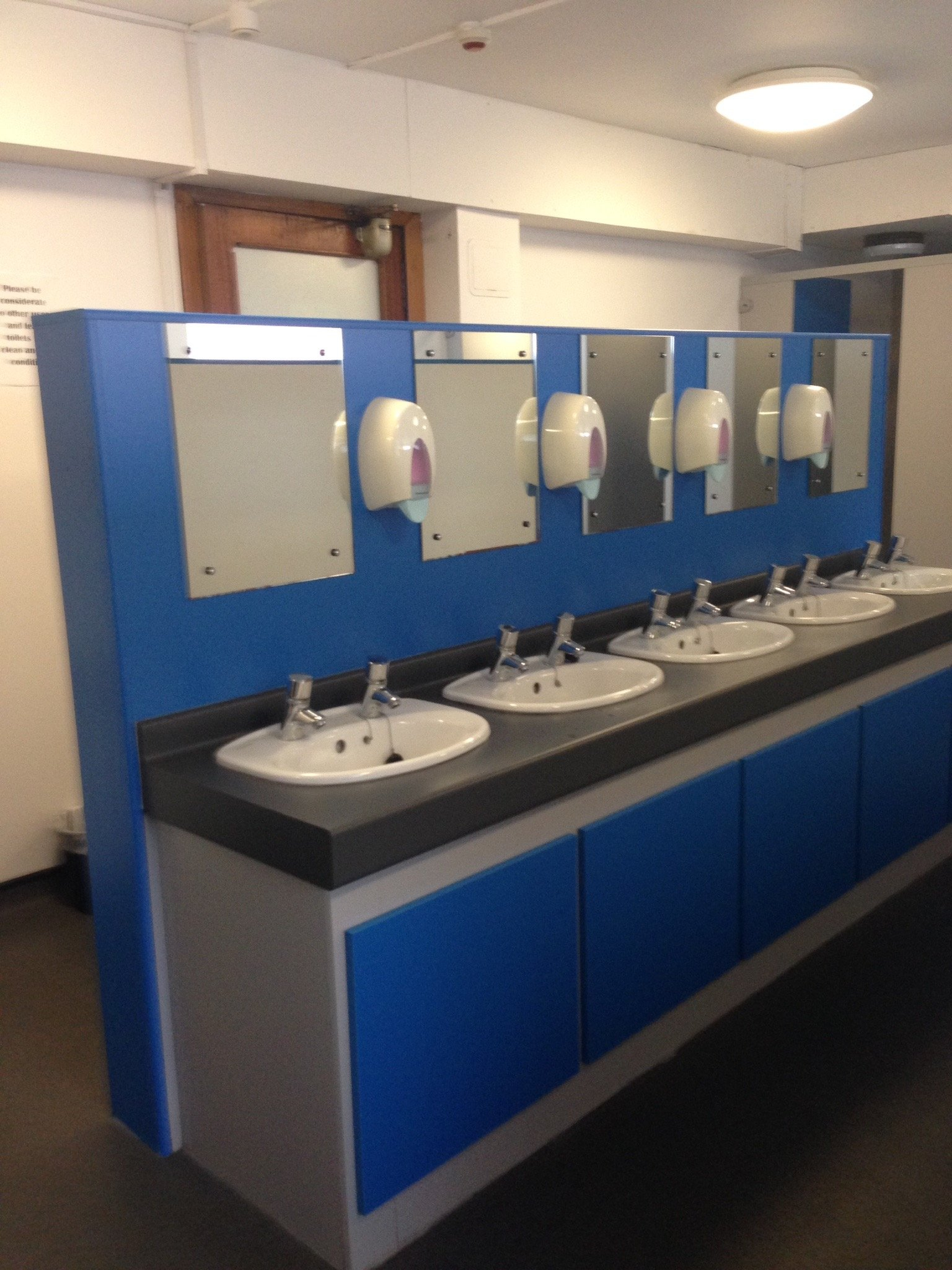 Where are the best toilets on campus?