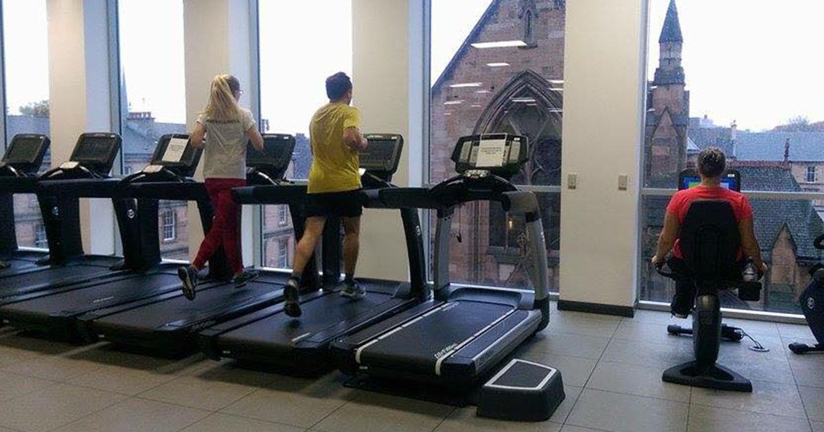Those treadmill views tho