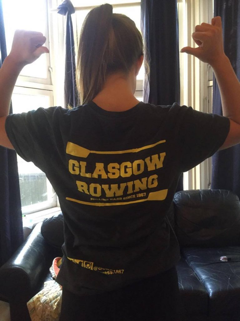 Glasgow's the name, rowing's the game