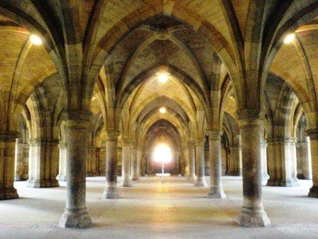 Iconic cloisters and a high-ranking Uni, what more could you want?