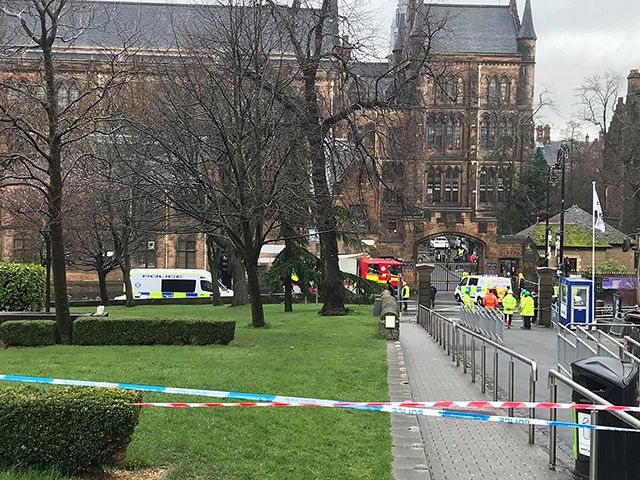 Glasgow main campus evacuated after suspicious package found