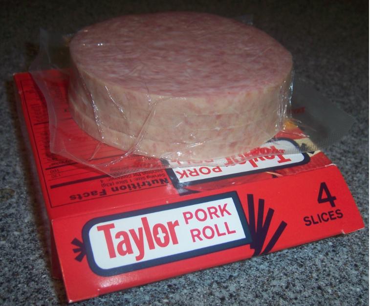 Taylor ham or pork roll? or Taylor Pork Roll?