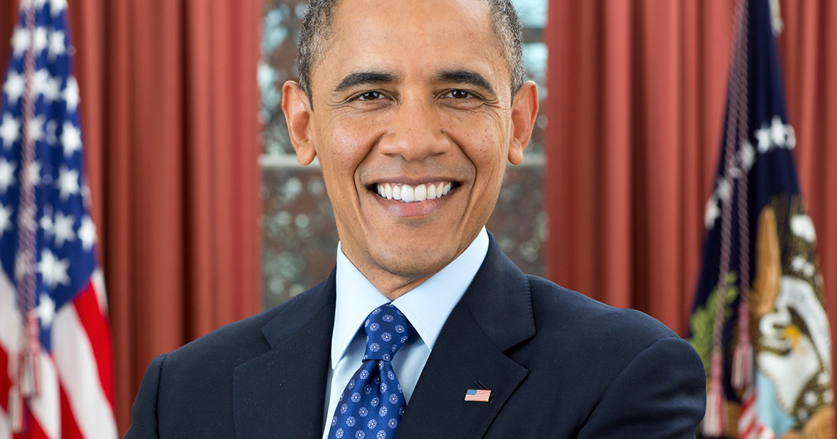 after a long campaign, President barack obama confirmed his attendance