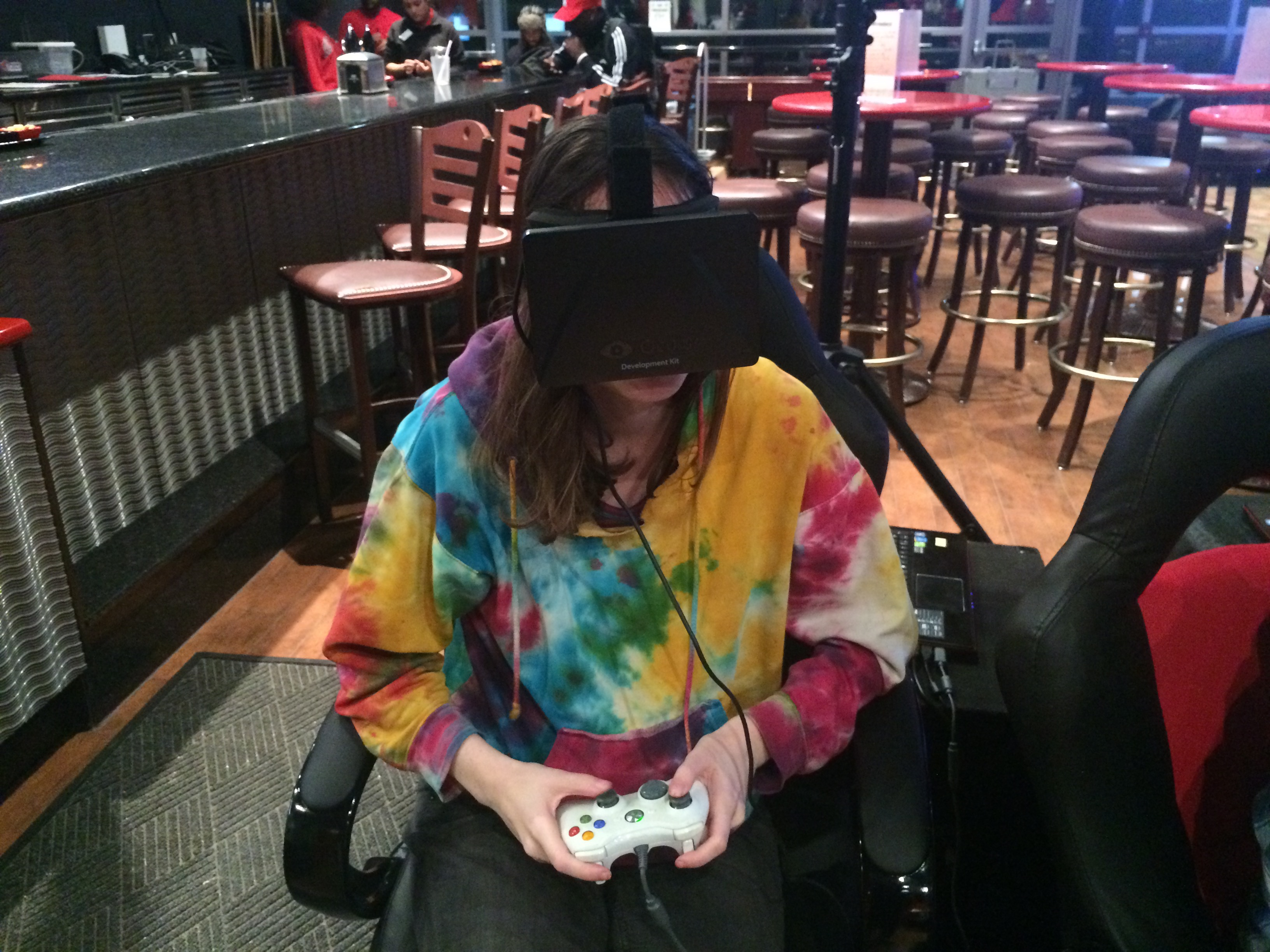 I Tried Virtual Reality For The First Time At Rutgers