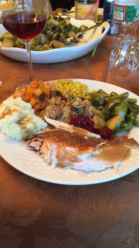 Thanksgiving tables from Eagles around the country