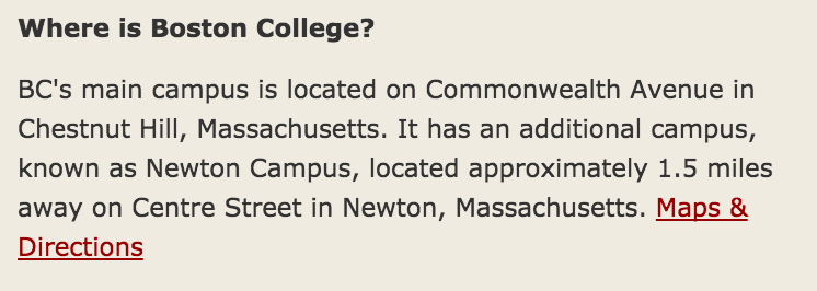 #1 on BC's list of FAQs, so I'm guessing they're pretty done with people asking about this too