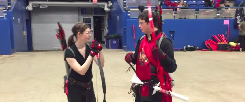 Fighting With Foam: I did battle with UConn's medieval