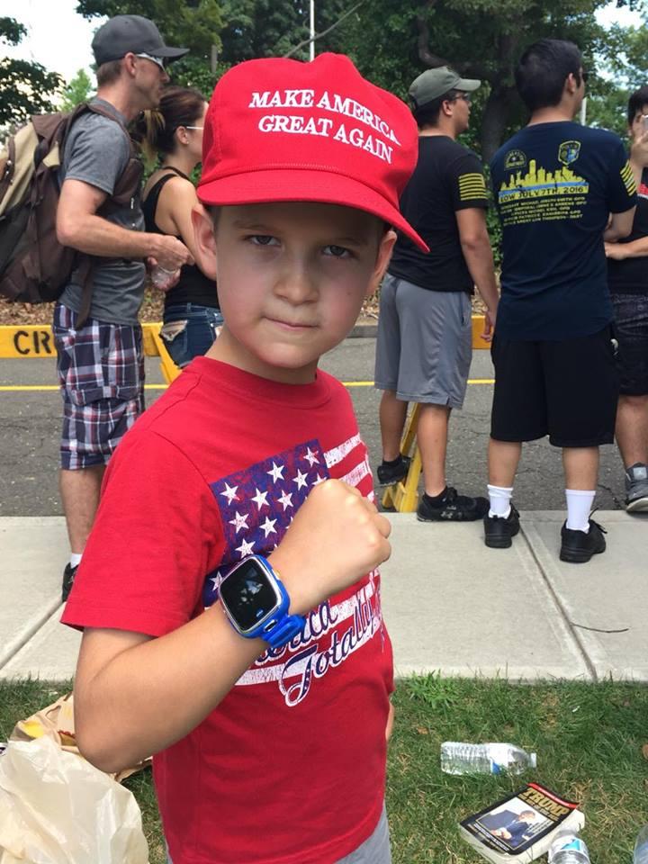 Liam Motzing, age 9.