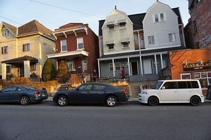 Image may contain: Van, Parking Lot, Parking, Vehicle, Transportation, Car, Automobile, Urban, Neighborhood, Building