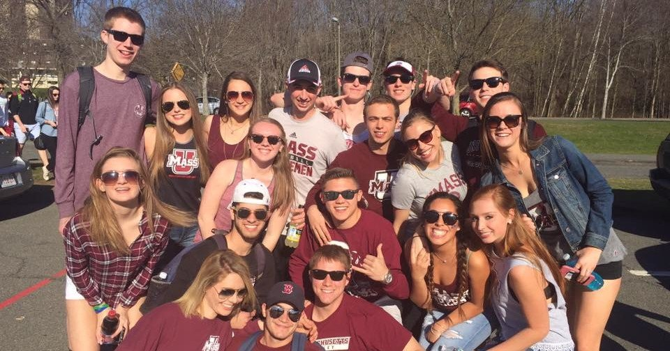 A typical tailgate squad