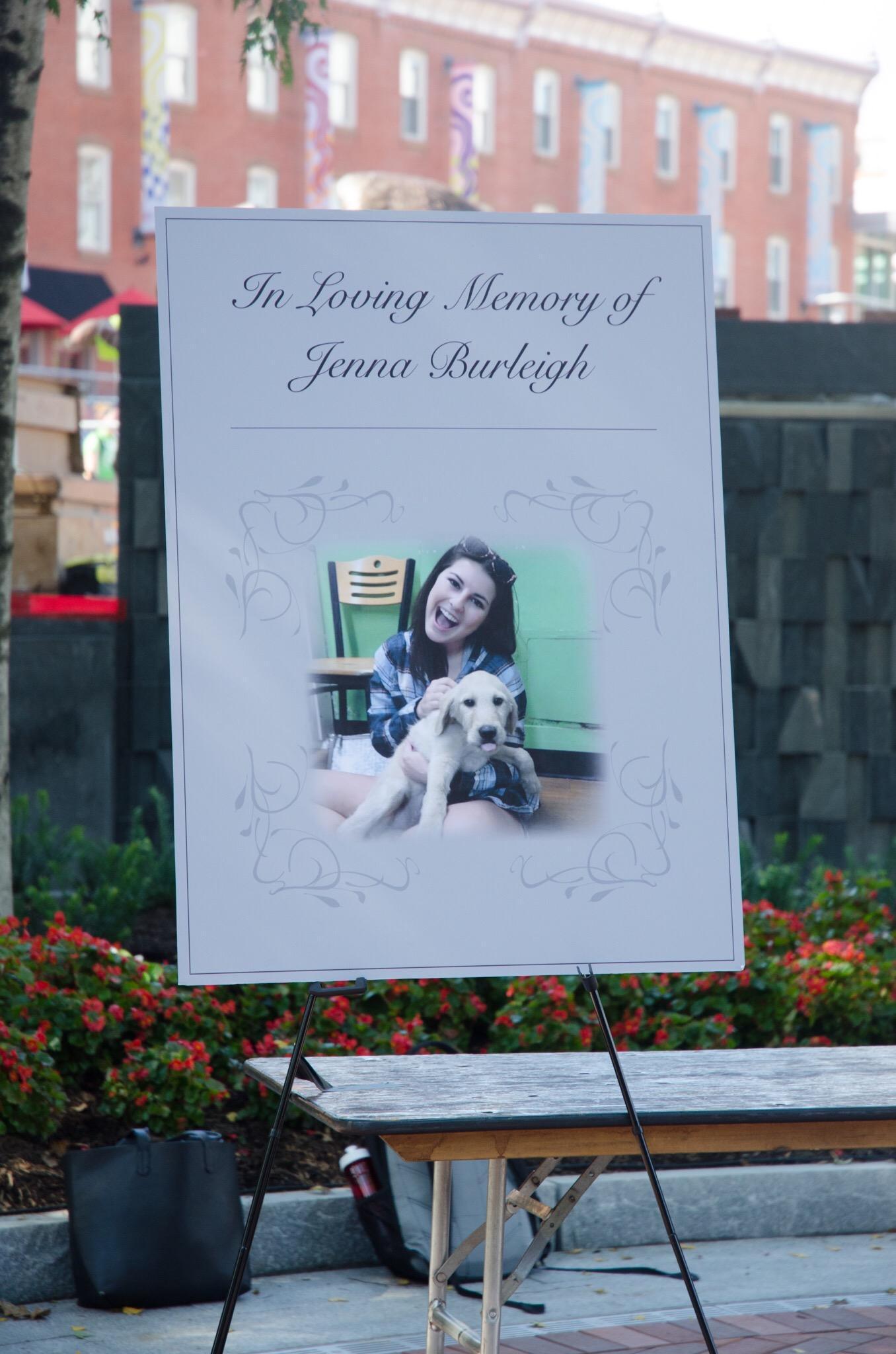 Temple University held a public vigil for Jenna
