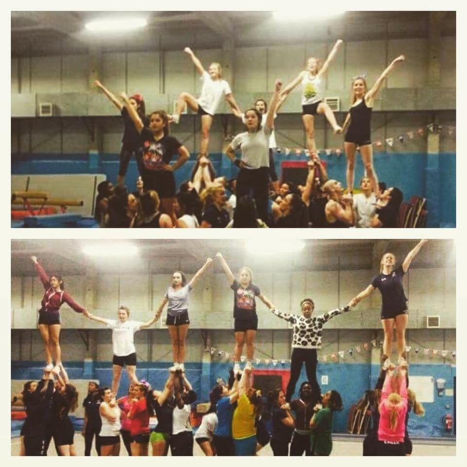These flyers will be higher than ever before and they won't be relying on their bases to catch their fall.