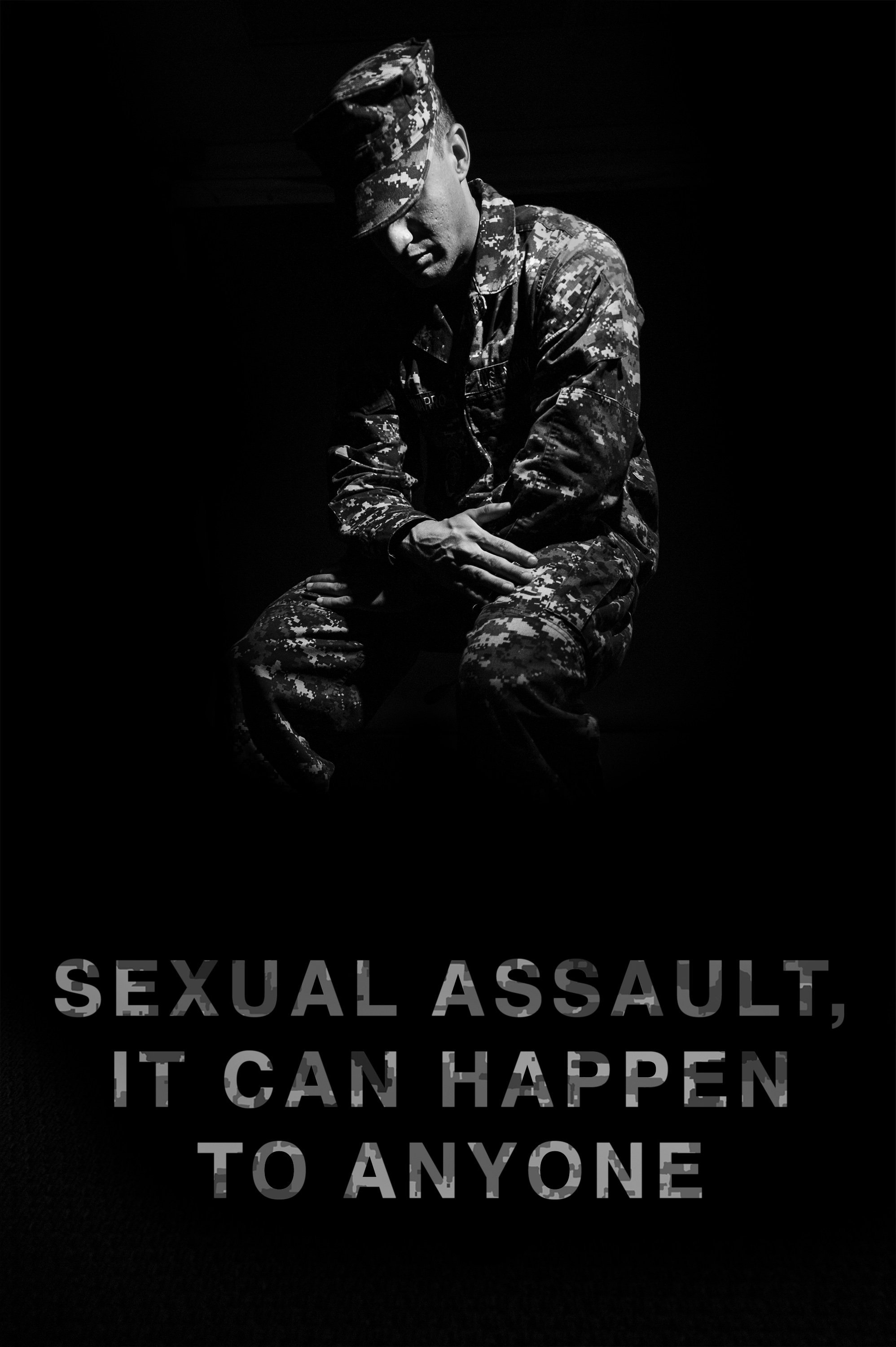 131030-N-XD424-001 PEARL HARBOR (Oct. 29, 2013) A poster produced by the U.S. Navy supporting the Sexual Assault Prevention and Response (SAPR) program. Fleet wide Sexual Assault Prevention and Response (SAPR) program training teaches Sailors the effective ways they can report and prevent sexual assault incidents. (U.S. Navy photo illustration by Mass Communication Specialist 2nd Class Dustin Sisco/Released)