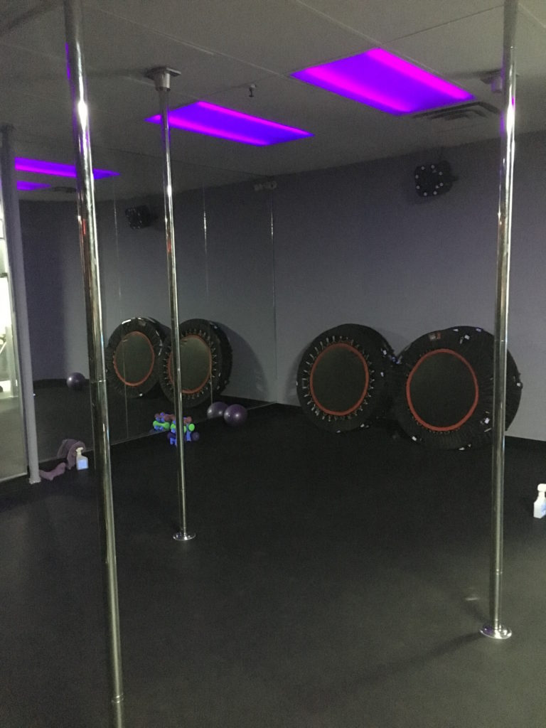 Femme Body Fitness studio/ Photo taken by me.
