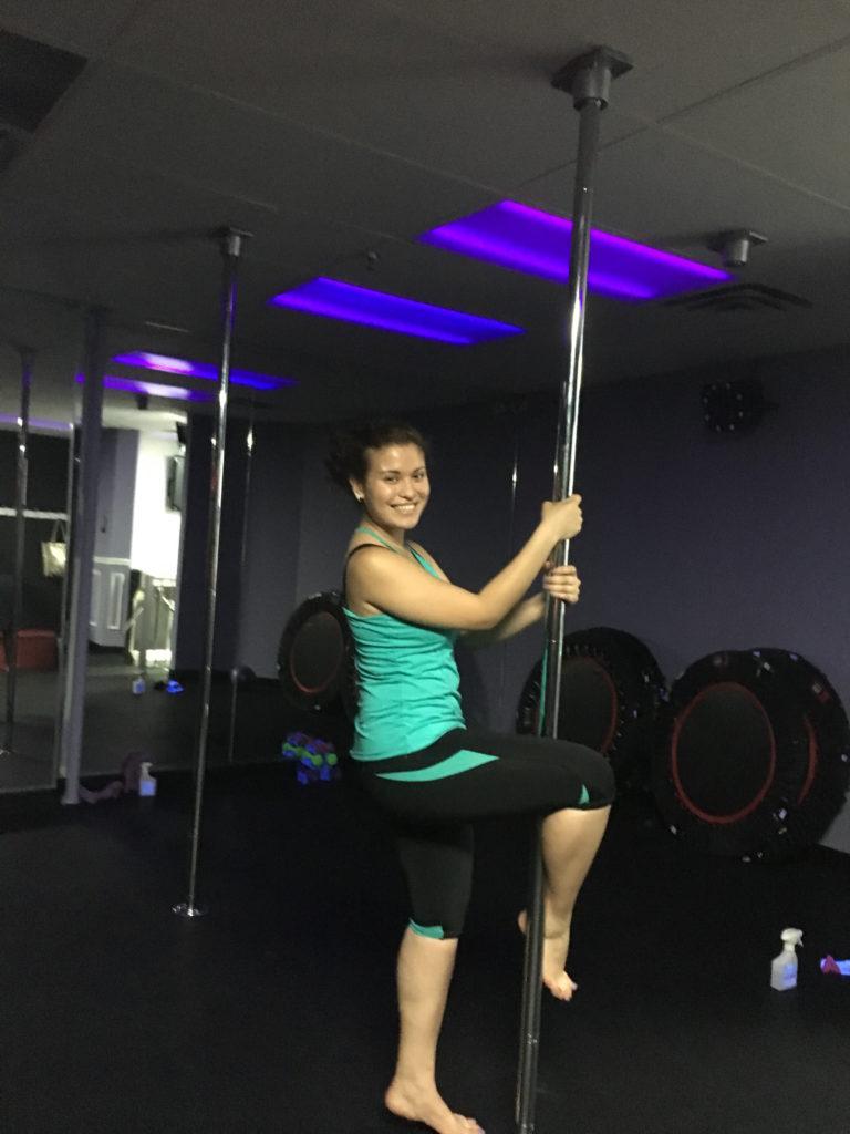 me on a pole