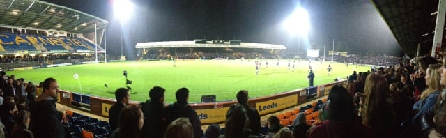 Panorama from the stands