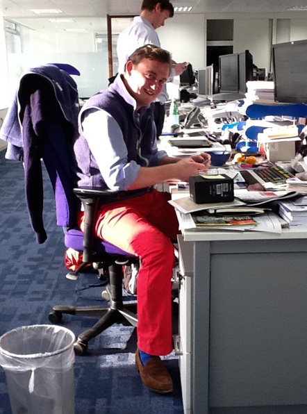 Pick out the weak ones, they can be identified by their red trousers and suede shoes