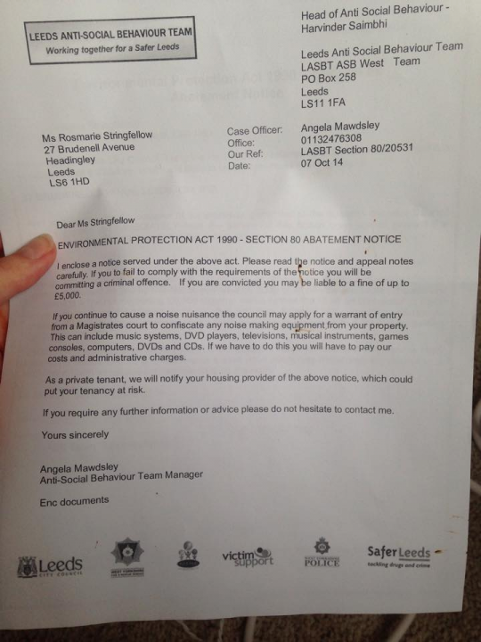 What Is An Asbo >> My House Party Was So Good The Council Gave Me An Asbo