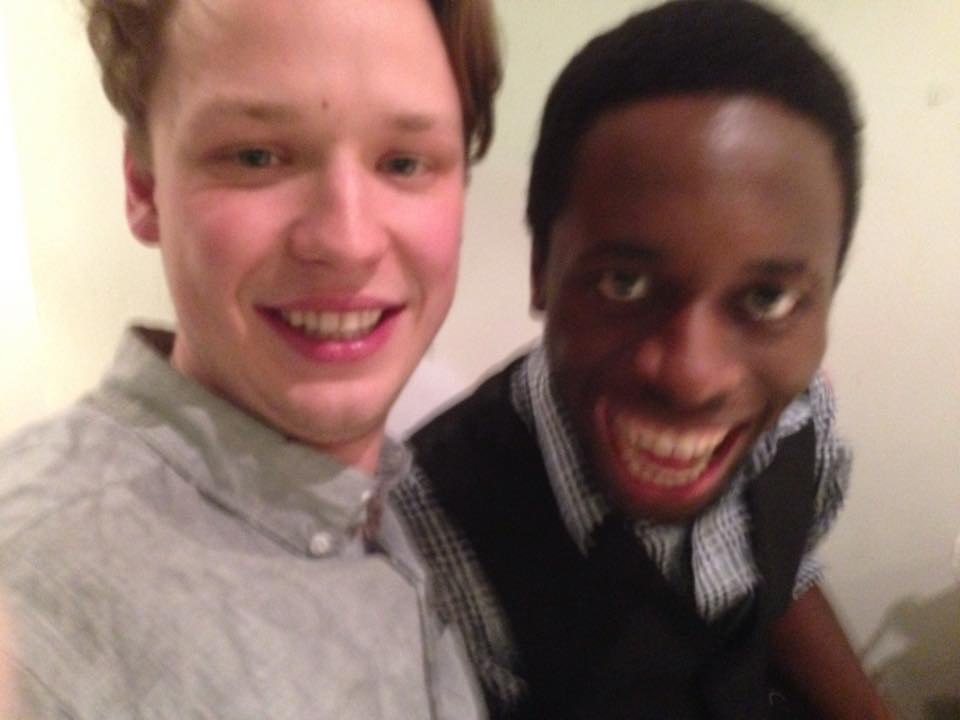 The man pictured with me is 100% not a racist.