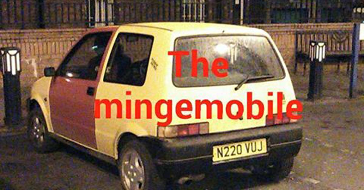 Inbetweeners  Car