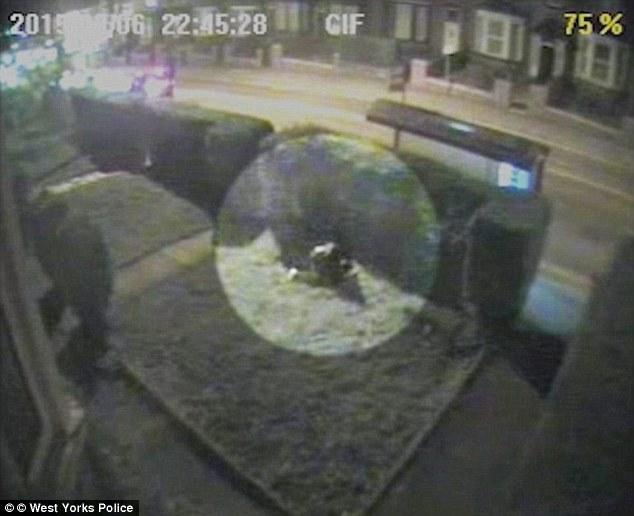 The horrific attack caught on CCTV