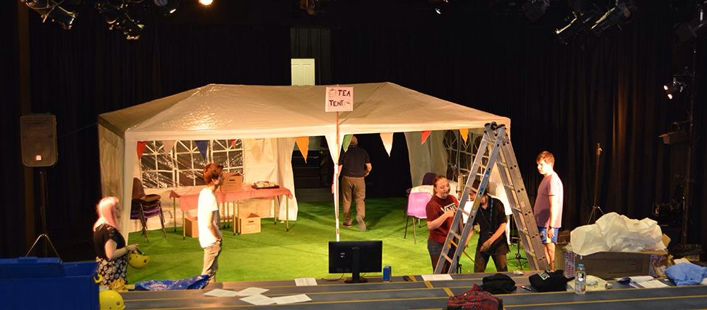 A production of the Alan Ayckbourn comedy.