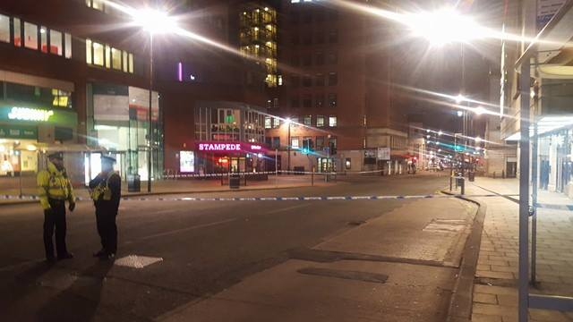 Man Suspected Of Possessing A Gun Arrested In Leeds City Centre
