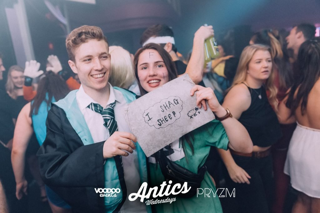 Every type of guy with a girlfriend on a night out